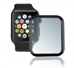 4smarts Second Glass Apple Watch 4/5 (40 mm) teljes kijelzős, kijelzővédő üvegfólia