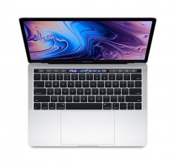 "Apple MacBook Pro 13"" Retina Touch Bar Intel QC i5, 1.4GHz, 8GB, 128GB, Intel Iris Plus Graphics 645, ezüst"