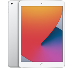 "Apple iPad 8 (2020) 10.2"" 128GB, Wi-Fi, Ezüst"