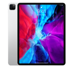 "Apple iPad Pro 12.9"" 2020, 256GB, Wi-Fi + Cellular, Ezüst"