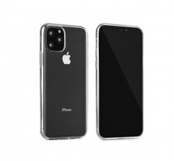 Apple iPhone 11 Pro Max Ultra Slim 0,3mm szilikon tok, átlátszó