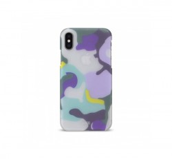 Artwizz Camouflage Apple iPhone X/Xs hátlaptok, oceán