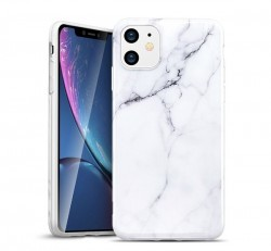 ESR Marble hátlap tok Apple iPhone 11, fehér
