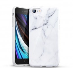 ESR Marble hátlap tok Apple iPhone SE(2020)/8/7, fehér