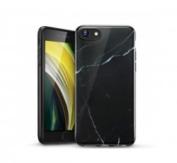 ESR Marble hátlap tok Apple iPhone SE(2020)/8/7, fekete