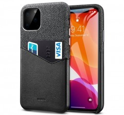 ESR Metro Wallet hátlap tok Apple iPhone 11, fekete