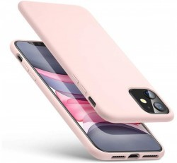ESR Yippee szilikon hátlap tok Apple iPhone 11, Pink