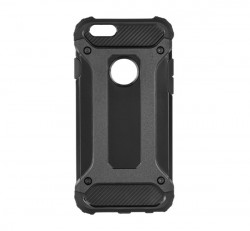 Forcell Armor hátlap tok Apple iPhone 6/6S, fekete