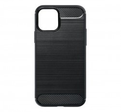 Forcell Carbon hátlap tok Apple iPhone 11 Pro, fekete