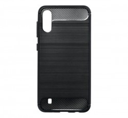 Forcell Carbon hátlap tok Samsung M105 Galaxy M10, fekete