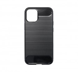 Forcell Carbon hátlap tok Apple iPhone 12 mini, fekete
