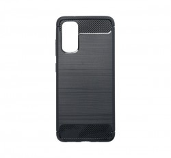 Forcell Carbon hátlap tok Samsung G980 Galaxy S20, fekete
