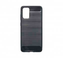 Forcell Carbon Samsung G985 Galaxy S20+ szilikon tok, fekete