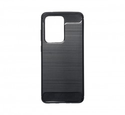 Forcell Carbon hátlap tok Samsung G988 Galaxy S20 Ultra, fekete