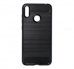 Forcell Carbon hátlap tok Huawei Y7 2019, fekete