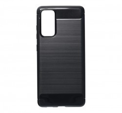 Forcell Carbon hátlap tok Samsung G780 Galaxy S20 FE, fekete