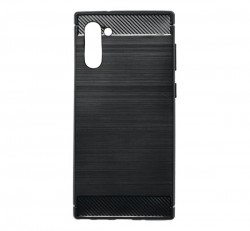 Forcell Carbon hátlap tok Samsung N970 Galaxy Note 10, fekete