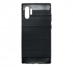 Forcell Carbon hátlap tok Samsung N975 Galaxy Note 10+, fekete