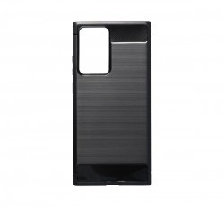 Forcell Carbon hátlap tok Samsung N986 Galaxy Note 20 Ultra, fekete