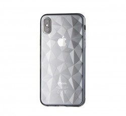 Forcell Prism hátlap tok Apple iPhone XR, átlátszó