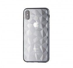 Forcell Prism hátlap tok Apple iPhone X, átlátszó