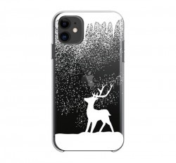 Forcell Winter hátlap tok Apple iPhone 12 mini, rénszarvas