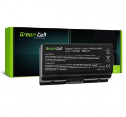 Green Cell Toshiba Satellite L40 L45 L401, Notebook akkumulátor 2200mAh Li-Ion