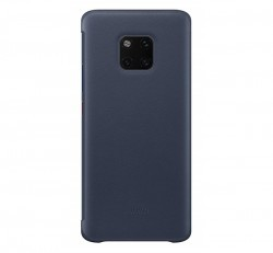 Huawei Mate 20 Pro Smart View Cover, gyári flip tok, kék