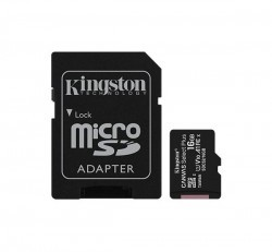 Kingston Canvas Select Plus microSDHC 16GB (Class 10), UHS-I memóriakártya adapterrel (SDCS2/16GB)