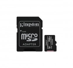 Kingston Canvas Select Plus microSDXC 256GB (Class 10), UHS-I memóriakártya adapterrel (SDCS2/256GB)