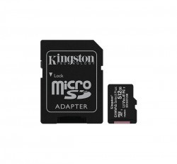 Kingston Canvas Select Plus microSDXC 512GB (Class 10), UHS-I memóriakártya adapterrel (SDCS2/512GB)