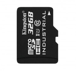 Kingston microSDHC 32GB (Class 10) UHS-I Industrial Temp, memóriakártya adapterrel (SDCIT/32GB)