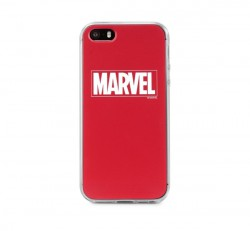 Marvel hátlapvédő tok, Apple iPhone 6 / 6S / 7 / 8, Marvel (logo) piros