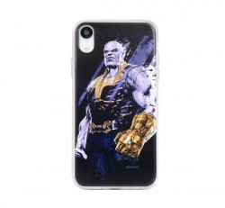 Marvel hátlapvédő tok, Apple iPhone 6 / 6S / 7 / 8, Thanos fekete