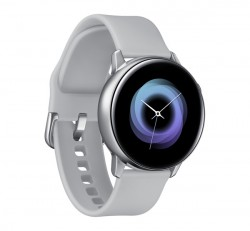 Samsung R500 Galaxy Watch Active okosóra, ezüst