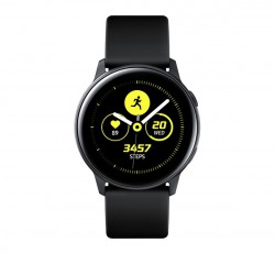Samsung R500 Galaxy Watch Active okosóra, fekete