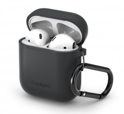 Spigen Apple Airpods tok, szürke