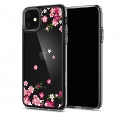 Spigen Ciel Cyrill Apple iPhone 11 Cherry Blossom tok, virág
