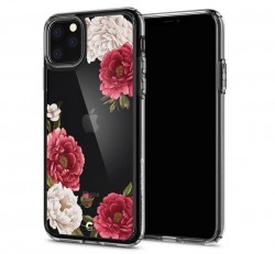Spigen Ciel Cyrill Apple iPhone 11 Pro Red Floral tok, virág