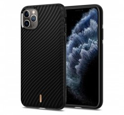 Spigen Ciel Cyrill Apple iPhone 11 Pro hátlap tok, Fekete hullám