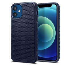 Spigen Liquid Air Apple iPhone 12 mini Navy Blue tok, kék
