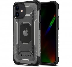 Spigen Nitro Force Apple iPhone 12 mini Matte Black tok, fekete