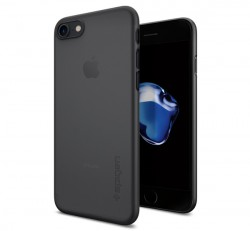 Spigen Air Skin Apple iPhone 8/7 Black tok, fekete