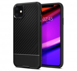 Spigen Core Armor Apple iPhone 11 Black tok, fekete