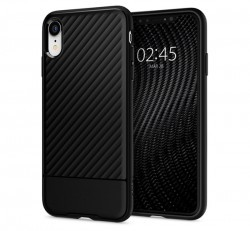 Spigen Core Armor Apple iPhone XR Black tok, fekete