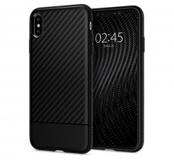Spigen Core Armor Apple iPhone Xs Max Black tok, fekete