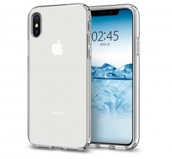 Spigen Crystal Flex Apple iPhone Xs Crystal Clear tok, átlátszó