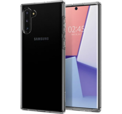 Spigen Crystal Flex Samsung Galaxy Note 10+ Crystal Clear tok, átlátszó