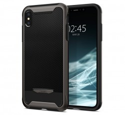 Spigen Hybrid NX Apple iPhone Xs Max Gunmetal tok, szürke
