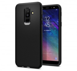 Spigen Liquid Air Samsung Galaxy A6+ Black tok, fekete